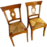 Set of 4 American Federal Side Chairs