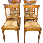 Set of 8 Cherry Dining Chairs