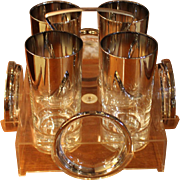 Lucite Drinks Caddy
