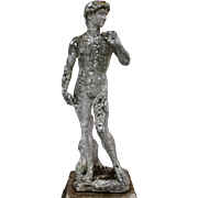 Garden Statue of King David