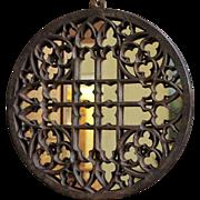 Cast Iron Floor Grate Mirror
