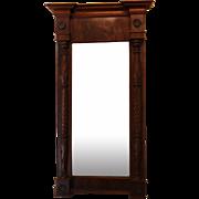 American Federal Mahogany Mirror