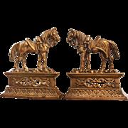 Bronze Horse Chimney Ornaments