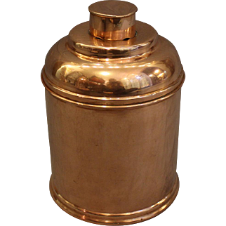 Copper Art Deco Humidor