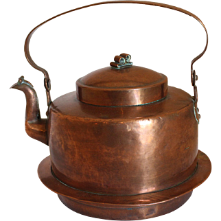 Large Copper Tea Kettle