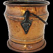 Copper & Iron Bucket, c. 1830