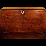 English Mahogany Portable Desk