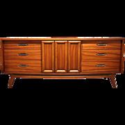 Mid Century Modern Walnut Dresser