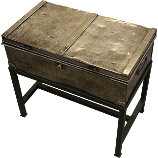 19th Century Steel Cartridge Case