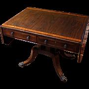 English Regency Sofa Table