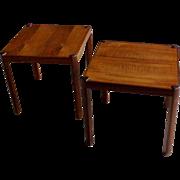 Mid-Century Modern Danish Side Tables