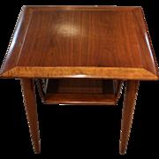 Gordon's Walnut Square Side Table