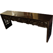 Carved Chinese Low Table