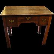 George III Provincial Oak Lowboy