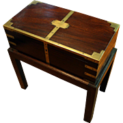 C. 1830 Georgian Lap Desk on Stand