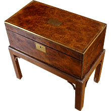 Georgian Lap Desk on Custom Stand