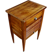 C. 1830 Country French Chevet/Bedside Table