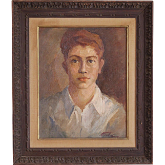 """Pat Trivigno """"Portrait of a Red Headed Boy"""""""