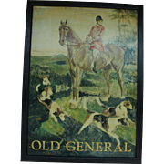 """Old General"" English Pub Sign"