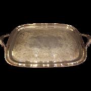 Silverplated Tea Tray