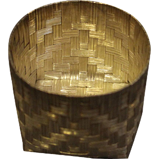 Small Tane Sterling Basket