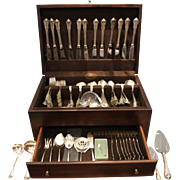 Set of Wallace Sterling Flatware, 121 Pieces