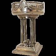19th Century Neo-Classical 900 Silver Centerpiece