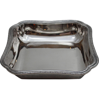 Silver Cartier Vegetable Bowl