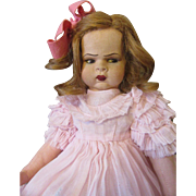Scowling Lenci Type Child- Excellent! Enchanting!