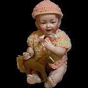 Exquisite Kestner ALL Bisque Baby Doll
