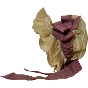 Marvelous Kate Greenaway Bonnet