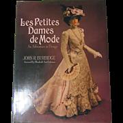 """""""La Petite Dames DeMode"""" Gorgeous Lady Doll Fashion Book"""