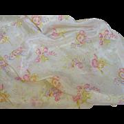 Springtime Vintage Fabric-1930's Easter Garden