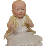"""Darlin' All Bisque Baby Doll-9"""" Tall"""
