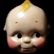 Antique Kewpie Composition Doll Head