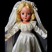 Enchanting Vintage Bride Doll-1945