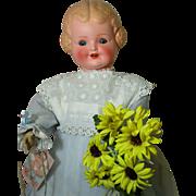 Happy Happy German Bisque Character Doll