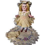 Sweet Old Crochet Doll Dress Set
