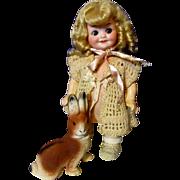 Darlin' Little Googly 353 Doll-All Original!
