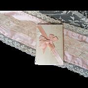 Elegant Antique Silk Needle Case