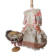 Lavish French Doll Dress & Hat! - Red Tag Sale Item