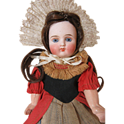 Cute Antique Belton Type Folk Doll