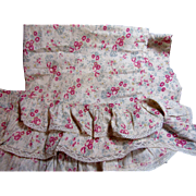 Charming Antique Cotton Fabric