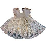 Beautiful Antique Baby Dress-Silk & Lace