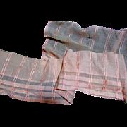Antique Silk Gauze Snippets