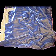 Sumptuous Old Silk Velvet-Violet Blue