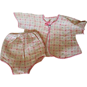 Flannel Dy Dee Baby or Tiny Tears Set