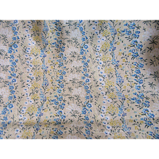 Lovely Old Cotton Fabric-