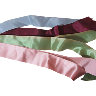 Pretty Assortment of Vintage Ribbons