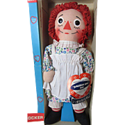 Musical Raggedy Ann-Mint In Box!  1970 - Red Tag Sale Item